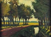 paysage by leonardo dudreville
