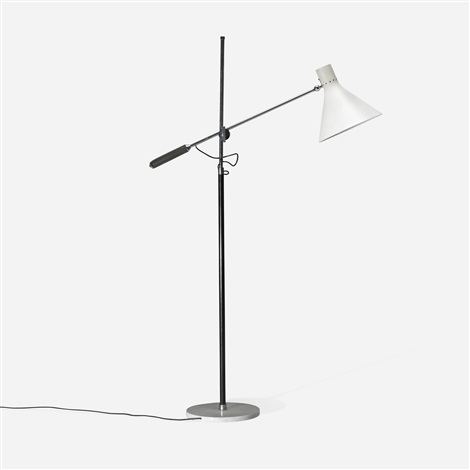 single arm floor lamp by arredoluce co