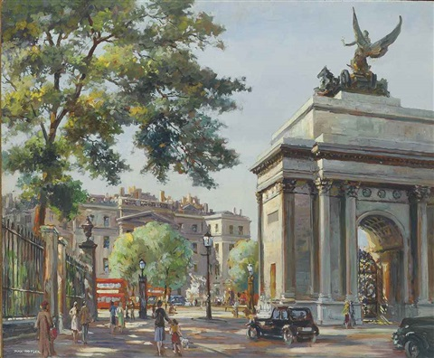 hyde park corner london by max hofler