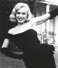 marilyn monroe, for life (11 works) by ed clark