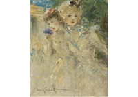 champs elysees by louis icart