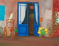 the blue door by lennart jirlow