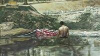 river by manuel ocampo