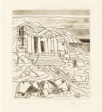 die antigone des sophokles (10) by eduard bargheer