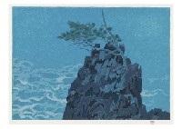 pine and rock by shinkichi kaii higashiyama