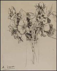spring flowers by arthur lismer
