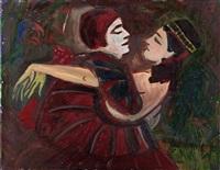 tanzendes paar by josef fischnaller