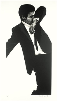 mark (from men in the cities) by robert longo