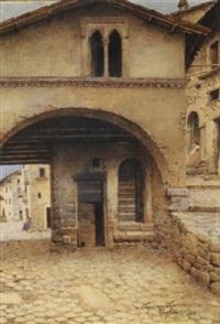 vicolo a tagliacozzo, 1912 by scipione simoni