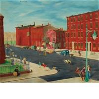street scene by robert gwathmey