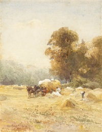 a sunny cornfield by rose maynard barton