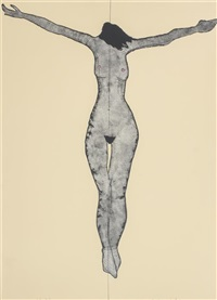 female crucifix by fritz scholder