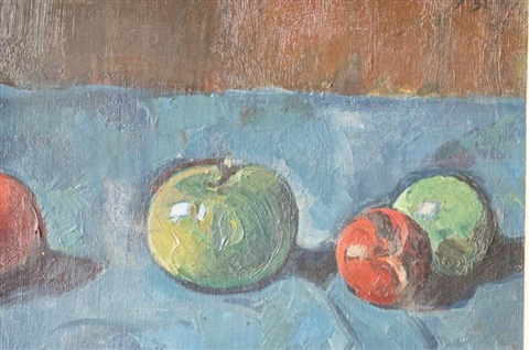 nature morte aux pommes by paul basilius barth