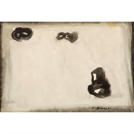 three bears rolling down a snowy hill by eva hesse