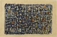 quatre saisons v (composition 378) by roger bissière