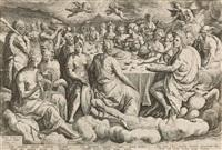 das göttermahl zur hochzeit von peleus und thetis (after crispijn van den broeck) by jacques de gheyn ii