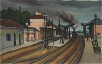 le gare by marcel dyf
