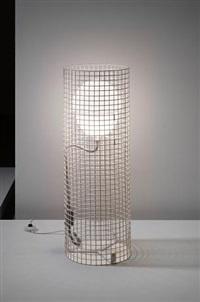 outdoor floor light, model no. 1102 by gino sarfatti