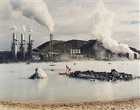 the blue lagoon, svartsengi geothermal pumping station, iceland by virginia beahan & laura mcphee