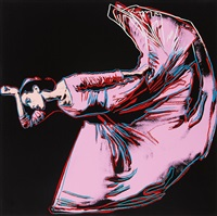 letter to the world (the kick) (from martha graham) by andy warhol