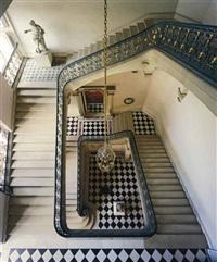 questel staircase, château de versailles by robert polidori