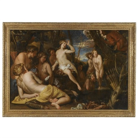 diana and actaeon by federico cervelli