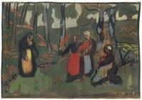 bretonnes dans la forêt by paul sérusier