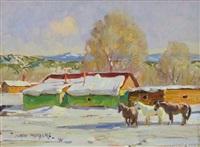 the green house, villanueva, nm by john moyers