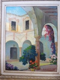 le patio fleuri by r. de torres de lara