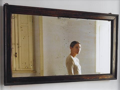 in the mirror 1 and 2 diptych by elina brotherus