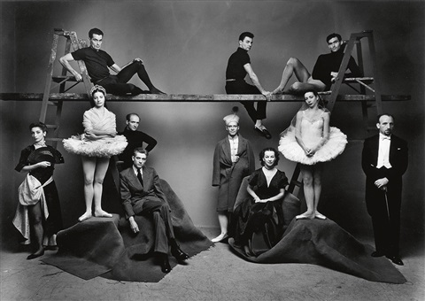 ballet theatre new york by irving penn