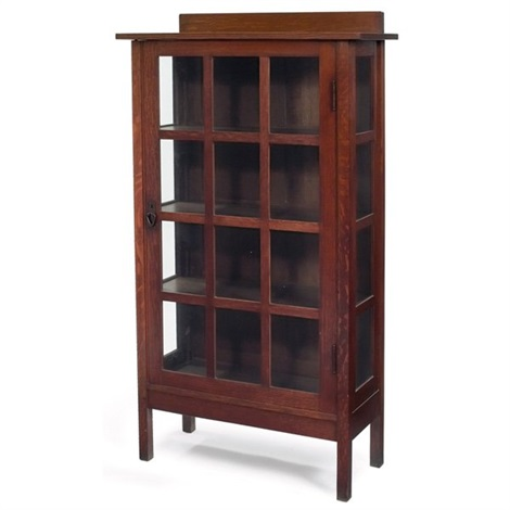 china cabinet by gustav stickley