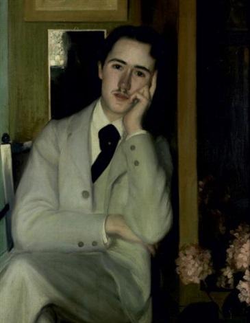 portrait dandré gide ou andré gide à 21 ans by jacques emile blanche
