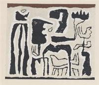afrikanisch (afrikanische erzählung) by willi baumeister