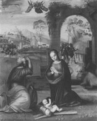 the nativity by tommaso di stefano lunetti