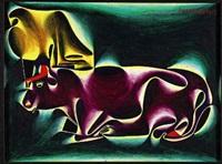 eifelkuhe (mucche) by fritz baumgartner