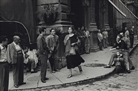 american girl in italy, florence by ruth orkin