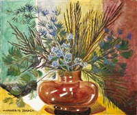 winter still life by marguerite thompson zorach