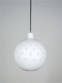 stehlampe und hängelampe como (set of 2) by aloys ferdinand gangkofner