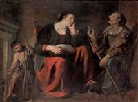 la nascita di meleagro by angelo caroselli
