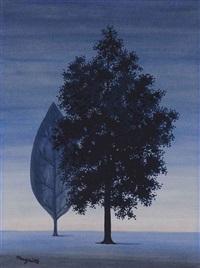 la clairvoyance by rené magritte