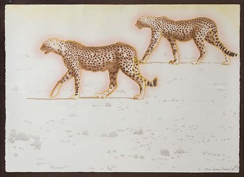 peters cheetahs by larry rivers