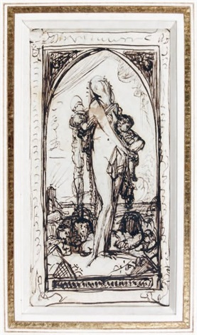 untitled gloria victis by gustave moreau