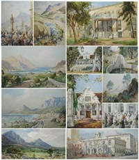 views of the cape (12 works) by charles e. peers