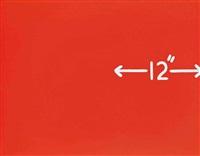 measurement: 12 (squared) by mel bochner