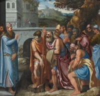 joseph and his brothers by giuseppe (salviati) porta