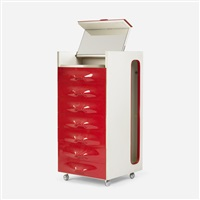df-2000 valet cabinet by raymond fernand loewy