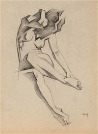 female figure by ignati ignatevich nivinsky