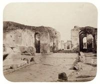 porte d'herculanum, pompéi, naples by g(abriel) de rumine