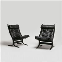chairs (2 works) by ingmar anton relling